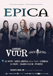 Epica + Vuur + Myrath @ Hard Club