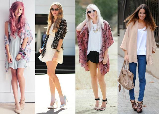 Moda: Looks com Kimono
