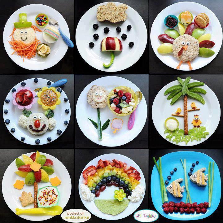Famoso 9 composizioni divertenti fatte con il cibo ! (clicca la foto) HI14