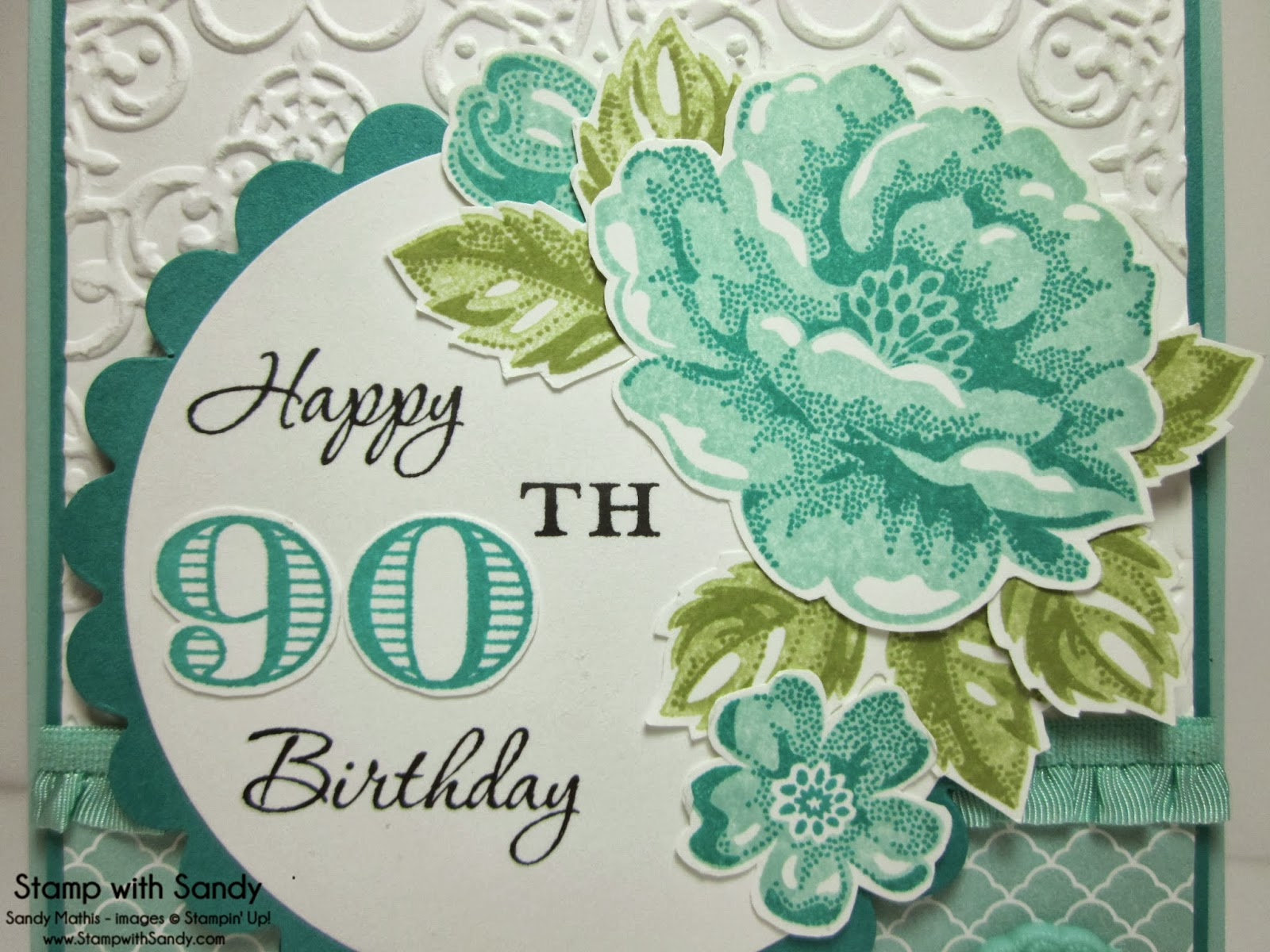 A Special Birthday Requires Card And I Hope She Liked What Made For Her Customized The With Memorable Moments Stamp Set
