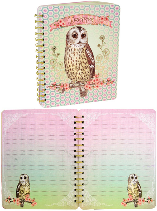 PAPAYA : Dreamer Spiral Notebook