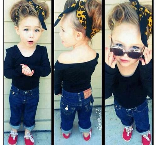 New fashion for litle girls