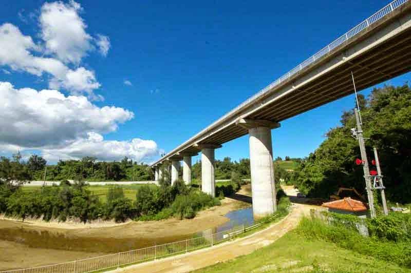 Kin Bridge, Okukubi River