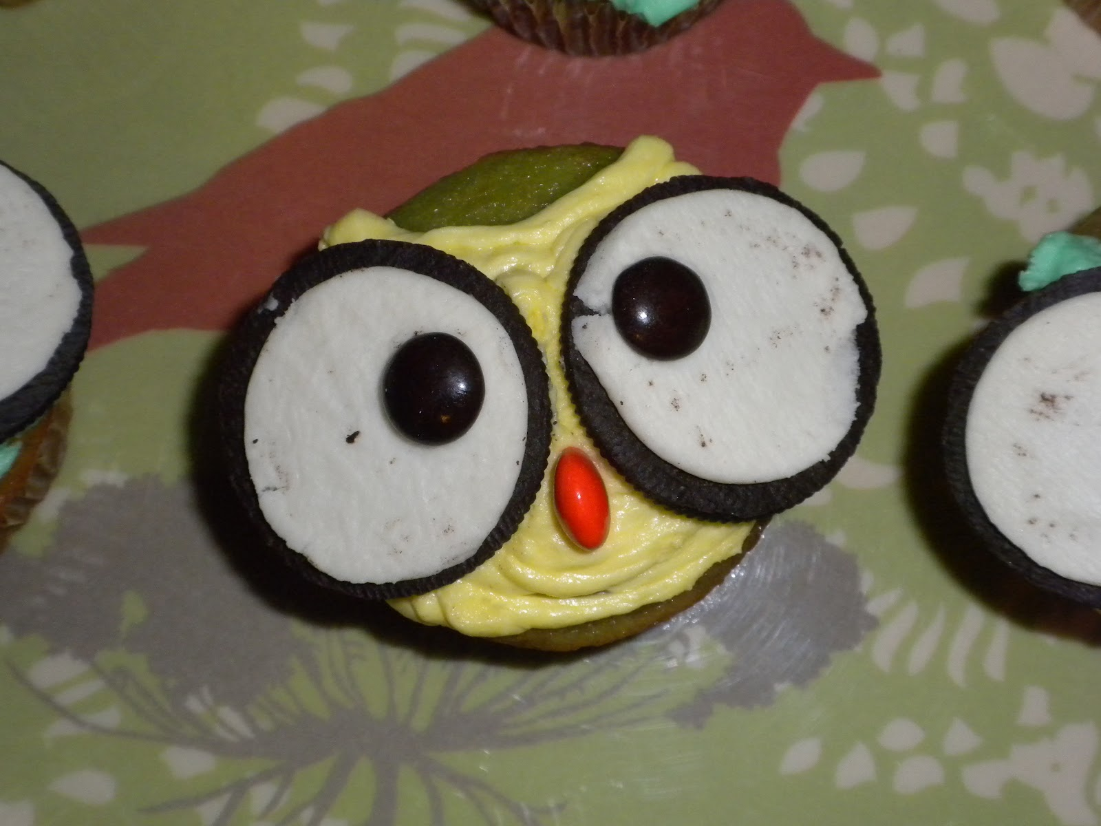 Owl Cupcake Ideas