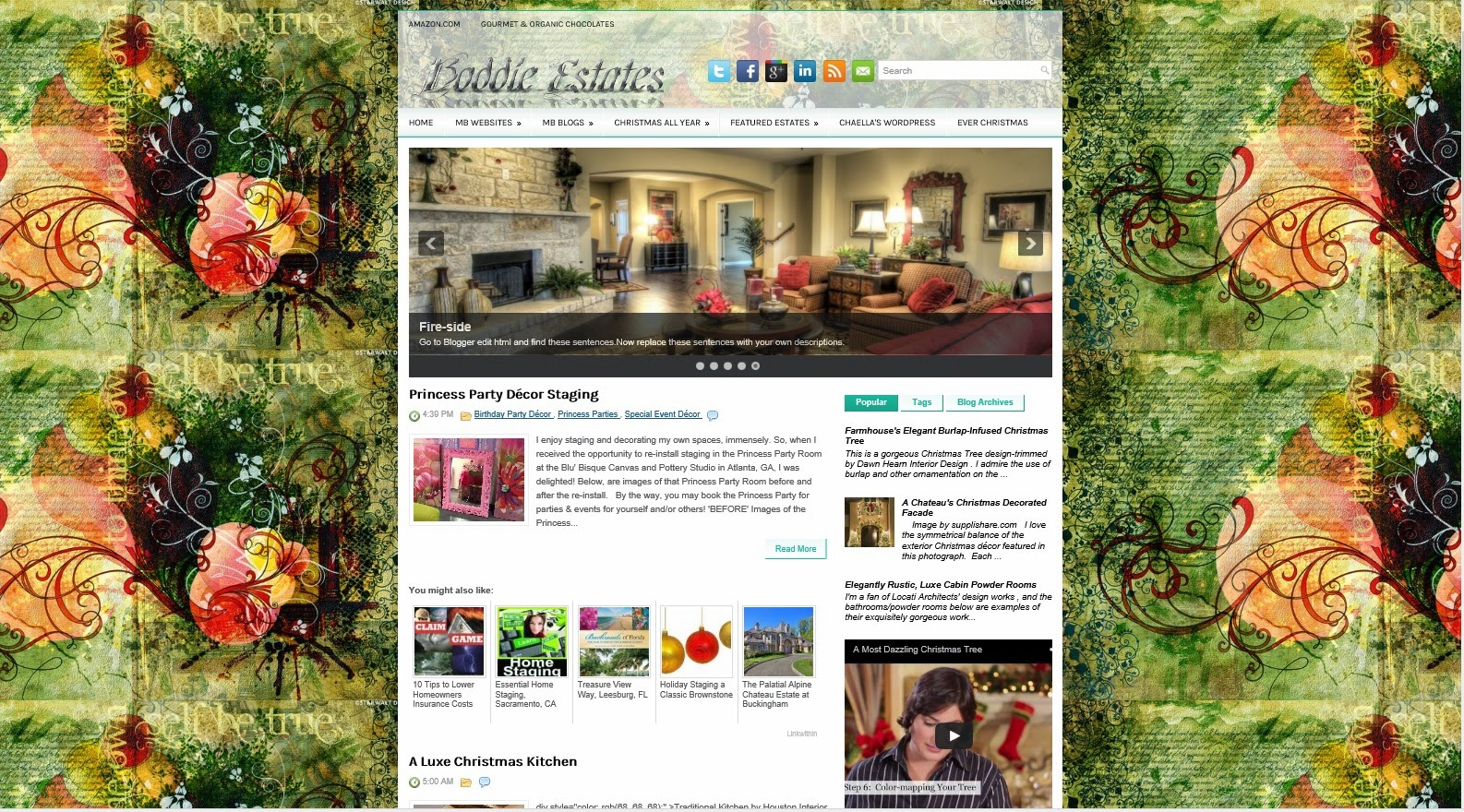 Boddie Estates Real Estate Topics blog