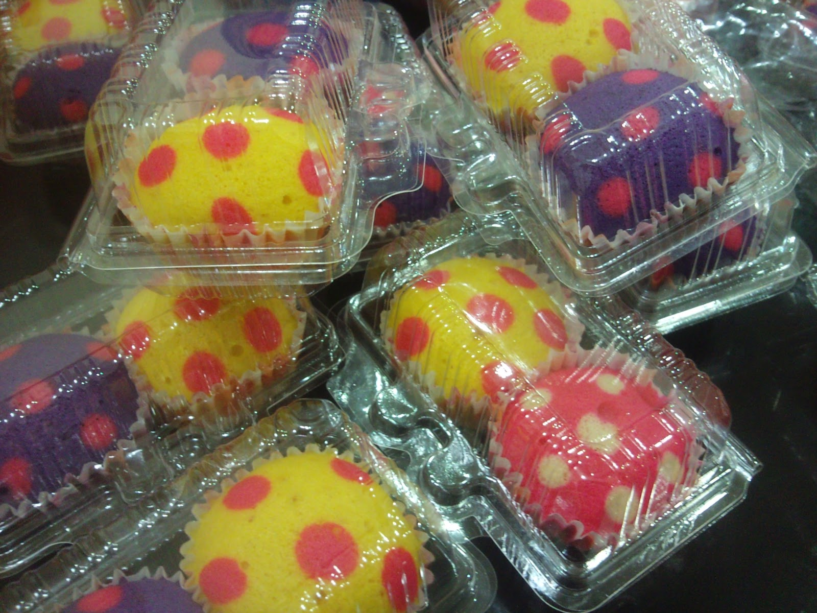 Harga Door Gift Apam Polka Dot & aSzbaRd~ Bakery: Harga Door Gift Apam Polka Dot
