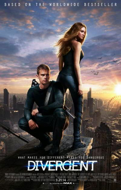 DIVERGENT tops the box office weekend