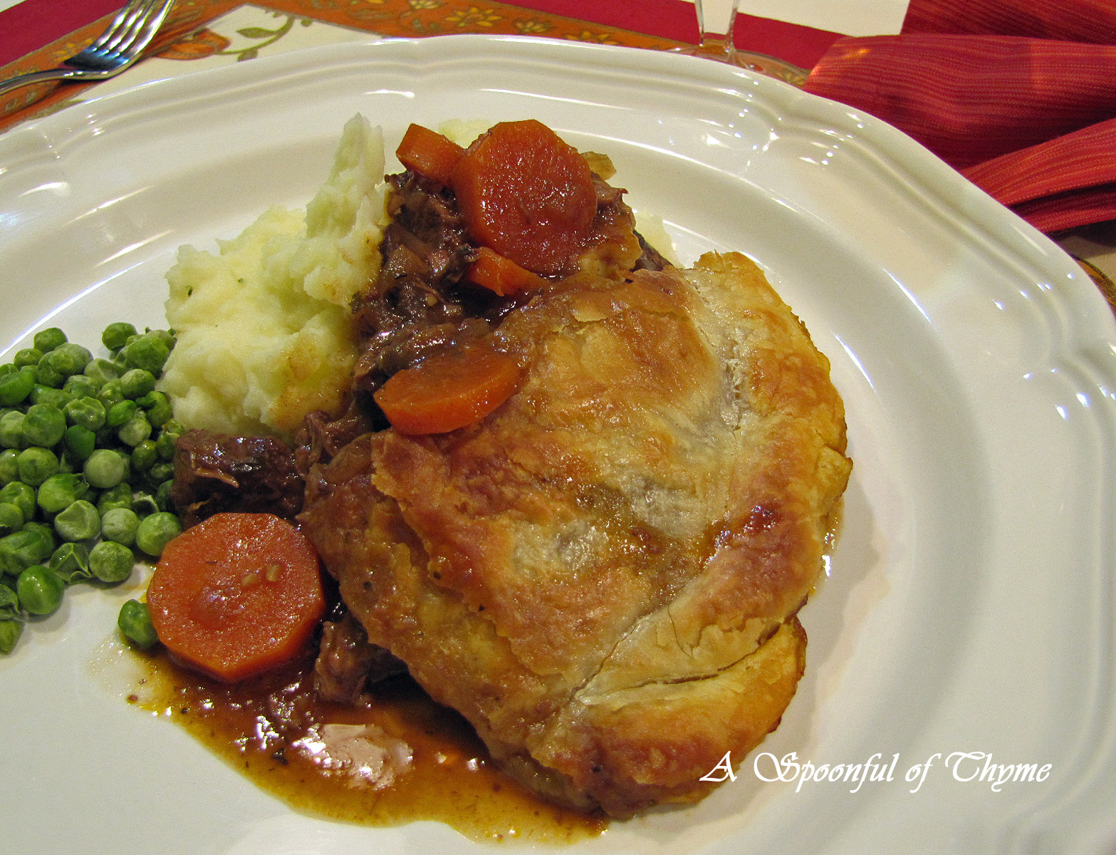 Spoonful of Thyme: Steak and Guinness Pie