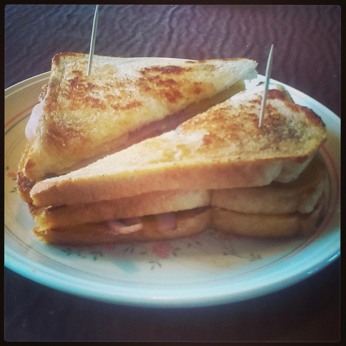 Double-Decker Turkey Sandwich