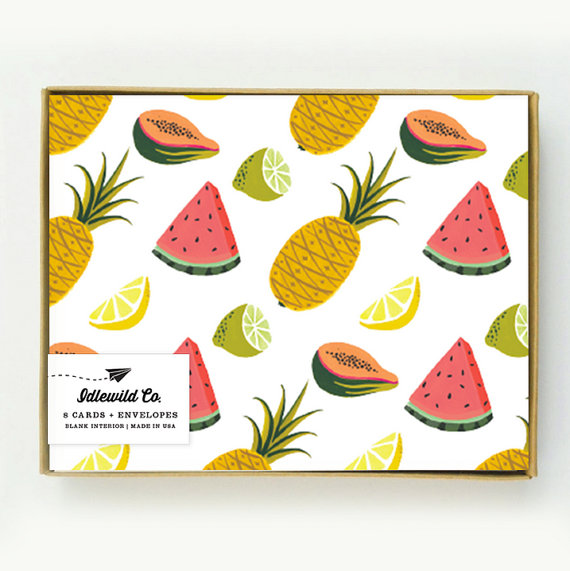 fruit notecard