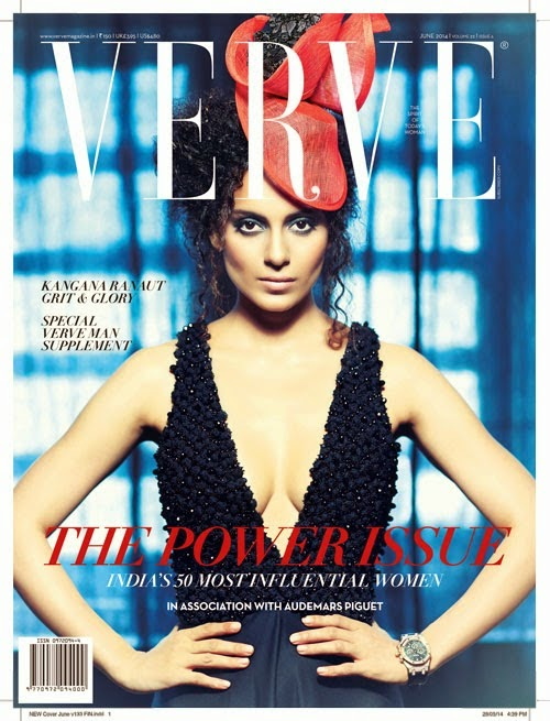 Kangana Ranaut Hot Photoshoot for Verve Magazine