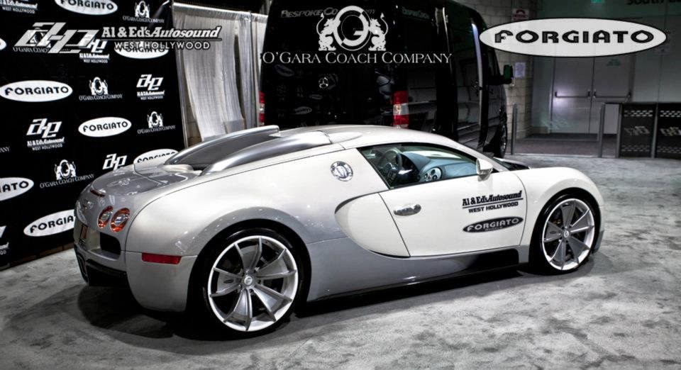 bugatti veyron second customizes by forgiato wheels. Black Bedroom Furniture Sets. Home Design Ideas