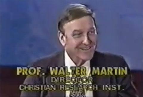 walter martin: