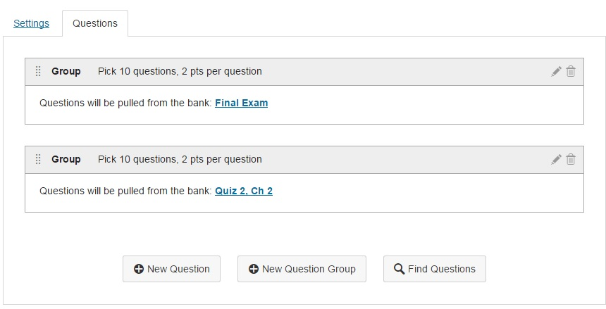 Tcc elearning how do i add a single question to a quiz build with next youre going to click on new question to add a question to this quiz ccuart Images