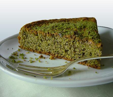ricetta torta pistacchi