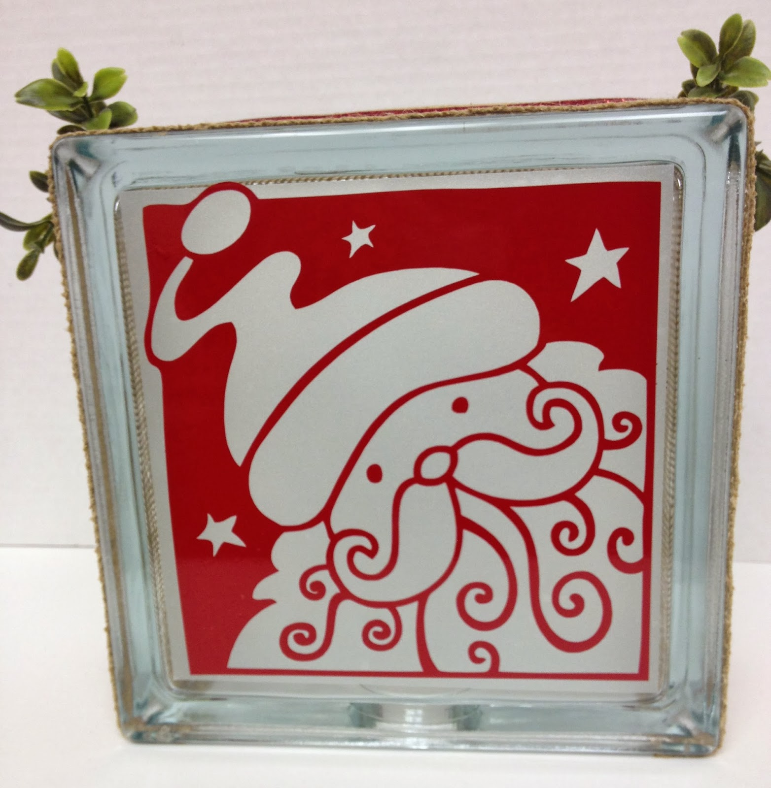 Paper craft studios new glass block ideas for Glass block for crafts