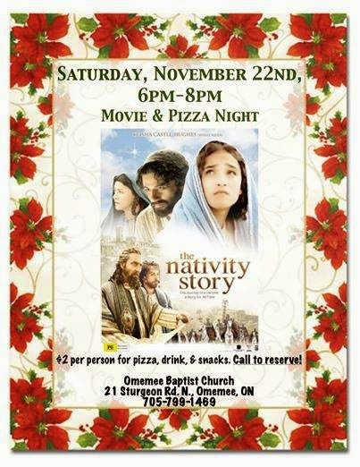 Omemee Baptist Church Presents The Nativity Story - 2006 epic biblical drama film based on the nativity of Jesus.