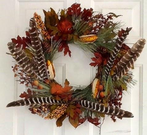 wianek z jesiennych zbiorow