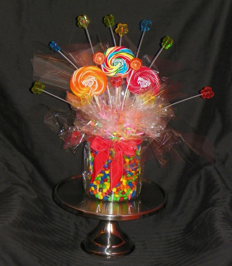 Arreglos de mesa con dulces imagui for Arreglos de mesa con dulces