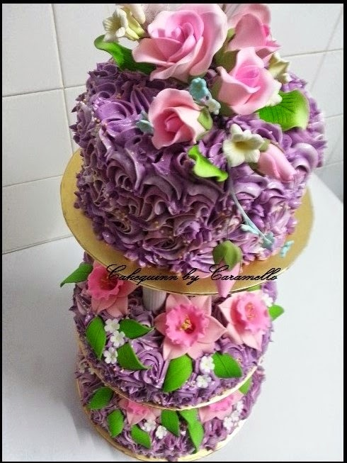 Wedding's Special - Buttercream cake