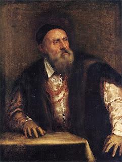 Tiziano Autoritratto 1550 - 1562