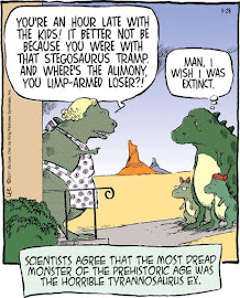 The Dreaded Tyrannosaurus Ex