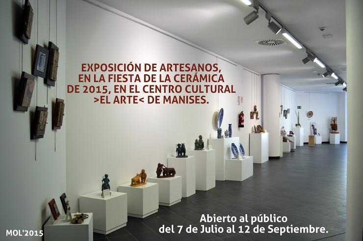 07.07.15 EXPOSICIÓN DE CERAMISTAS EN EL CENTRO CULTURAL EL ARTE