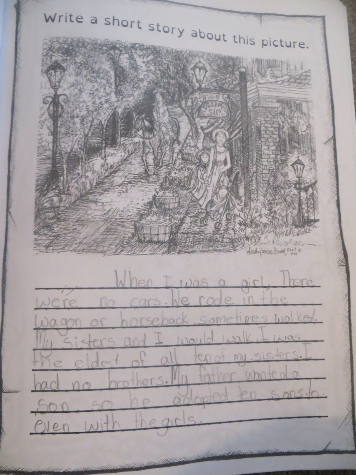 My full heart review of do it yourself homeschool journal reading time mikaela chooses 4 of her books to read each book for 15 minutes totaling 1 hour daily she sometimes reads longer solutioingenieria Choice Image