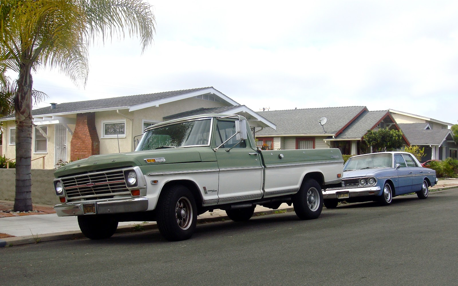 The Street Peep 1969 Ford F 250 Ranger Camper Special F100