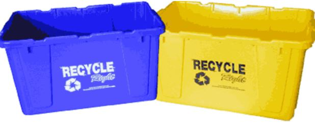 October 1st: City switch- ing from Single back to Dual Stream Recycling: