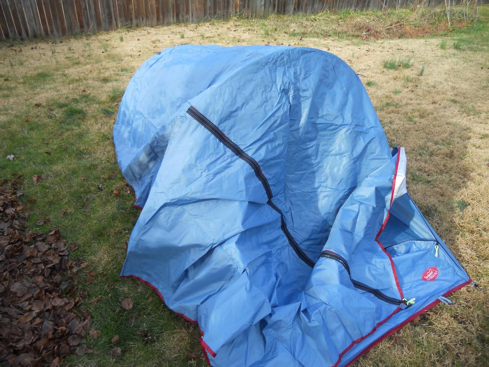 Texsport Saguaro Bivy Shelter Tent with Rainfly Draped Over Top & Texsport Saguaro Bivy Shelter Tent: Texsport Saguaro Bivy Shelter ...
