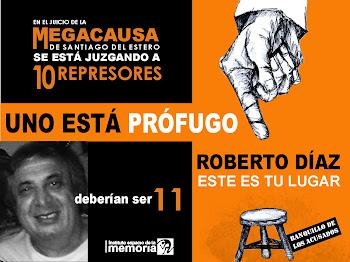 Se Busca: Roberto Díaz Prófugo