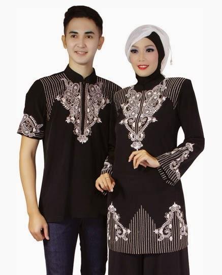 Contoh Model Baju Muslim Pasangan Gaul