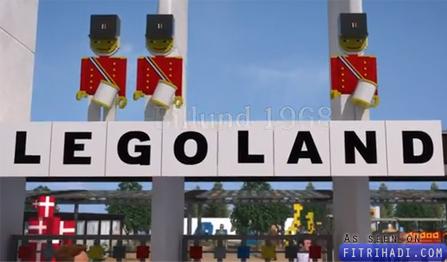 video sejarah inspirasi kejayaan lego legoland