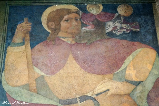 Guardiagrele, collegiata di Santa Maria Maggiore. San Cristoforo
