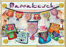 Stickdatei &quot;Marrakesch&quot; taschen &amp;Wimpel