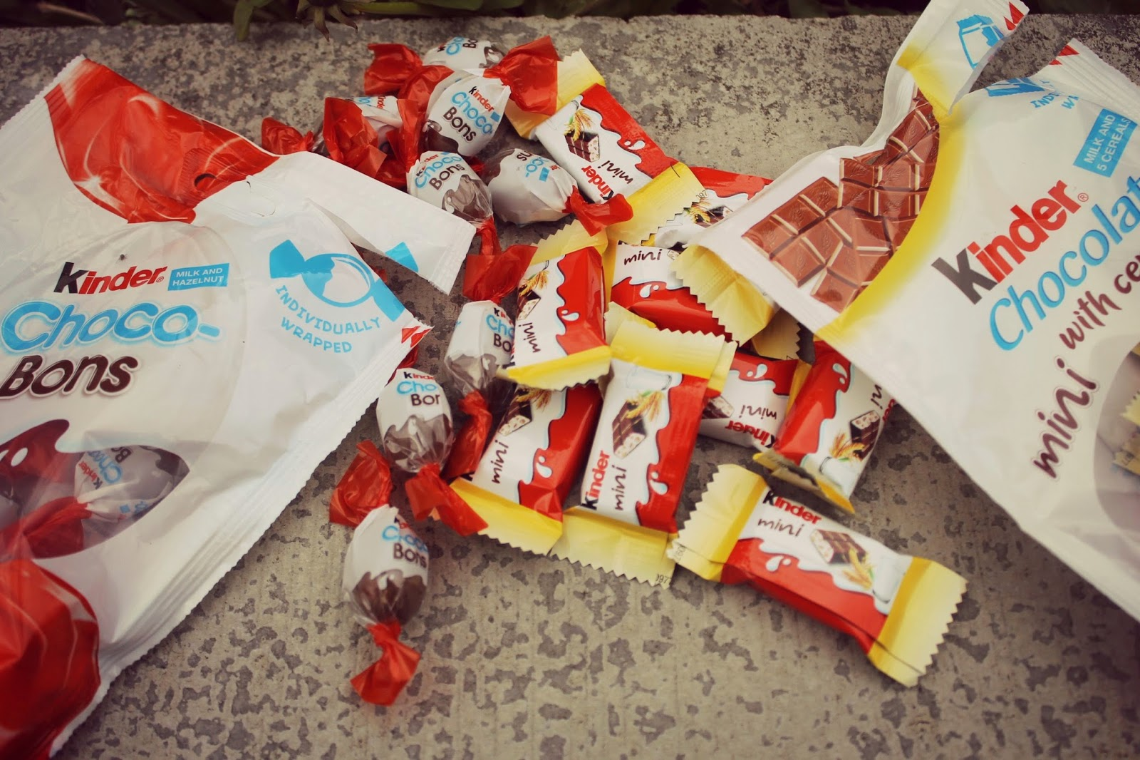 kinder chocolates small individually wrapped