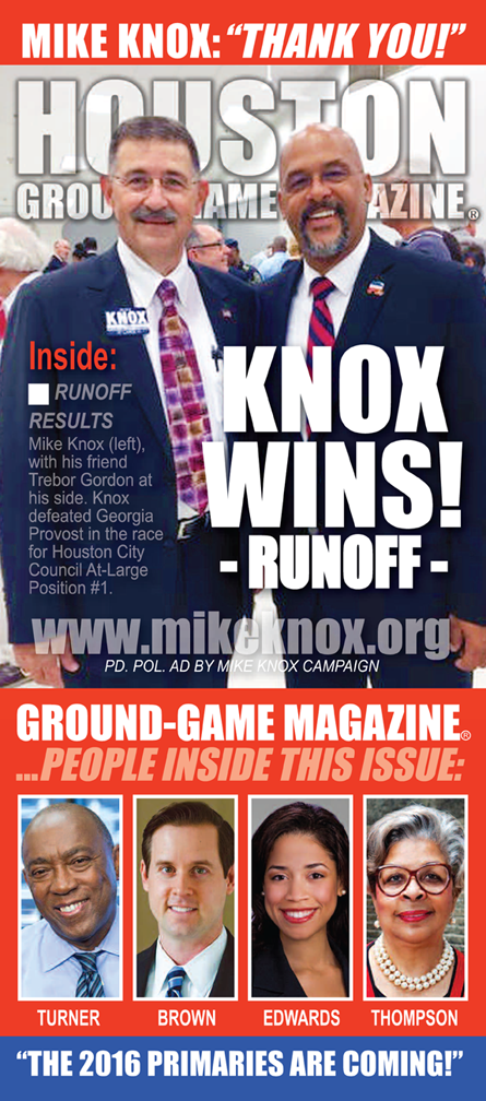VOLUME 1 NO. 8 OF GROUND GAME MAGAZINE FEATURING MIKE KNOX AND TREBOR GORDON ON THE COVER