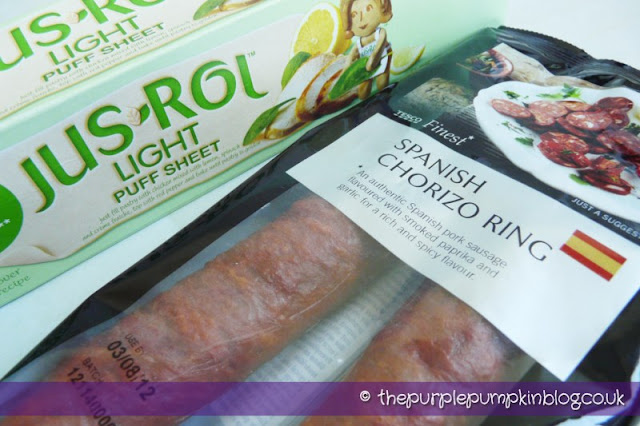 Chorizo Empanadillas - The Purple Pumpkin Blog