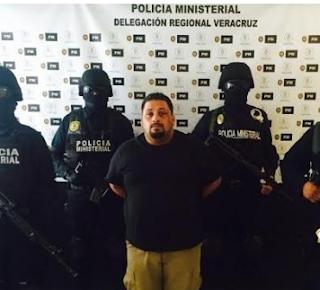 """Cae secuestrador alias """"La Gorda"""" en el centro de Veracruz"""
