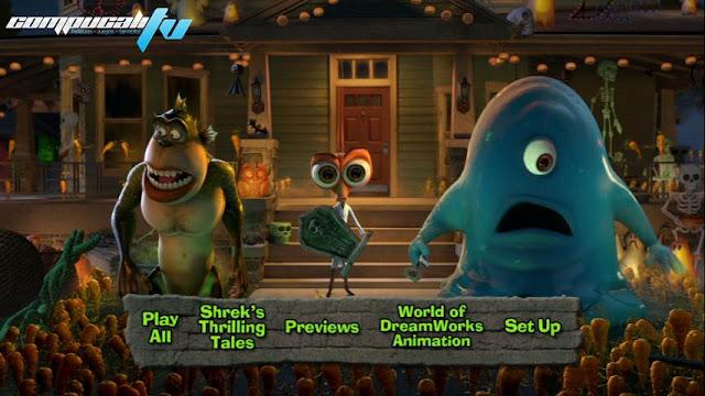 Shreks Thrilling Tales DVDR NTSC Español Latino 2012