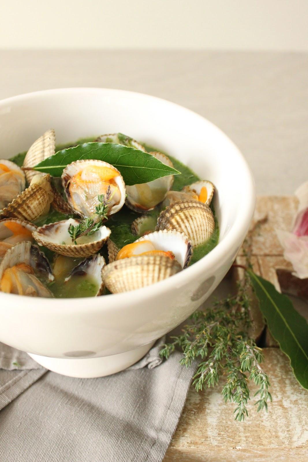 Petits repas entre amis soupe de coques verte for Repas simple et pas cher entre amis