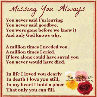 I Love N Miss You Quotes : and the only girl i still think of you dad and miss you each time this ...