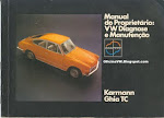 MANUAL KARMANN GHIA TC