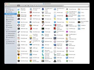 The Applications Folder