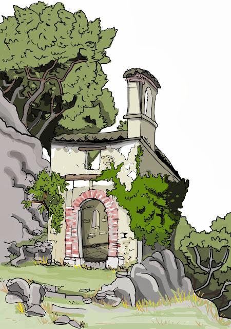 """< img src= """" Ermita del Calvario.jpg"""" alt= """" Dibujo de Ermita"""">"""