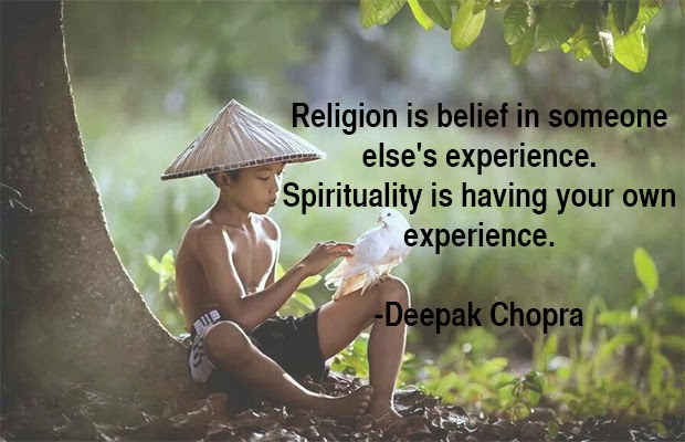 Deepak Chopra Quote, asian boy, spirituality, religion, quote