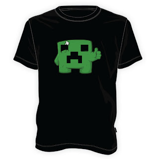 Koszulka Minecraft - Creeper