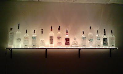 LED Liquor Shelves Display Wall Mount LIQUOR SHELVES : Liquor ...