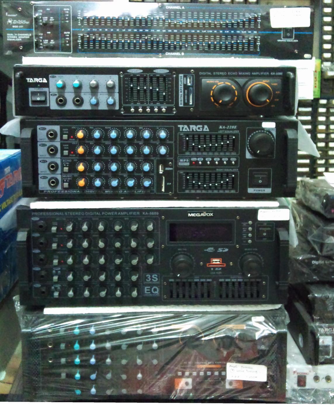 Indah Elektronik Amp Sparepart Amplifier Equalizer HOME